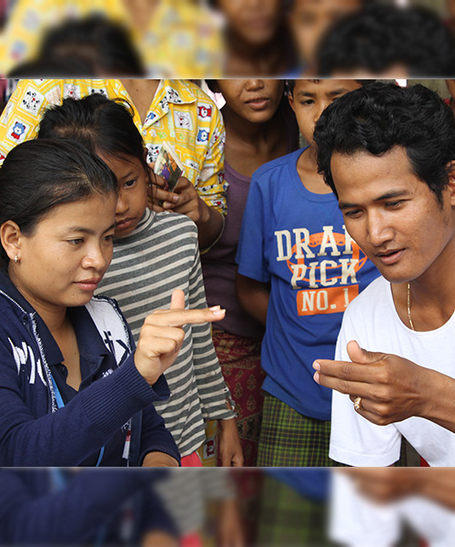 Maryknoll lay missioners and the Deaf Development Programme
