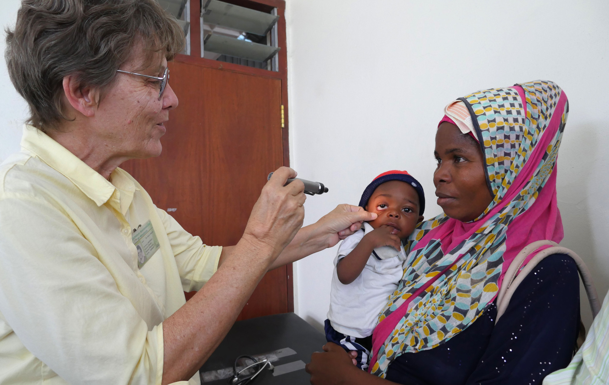 Susan Nagele, working as a physician at St. Patrick Dispensary in Mombasa, Kenya