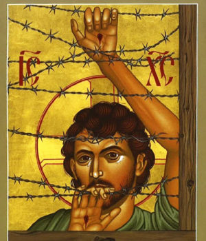 Icons for the suffering of asylum seekers