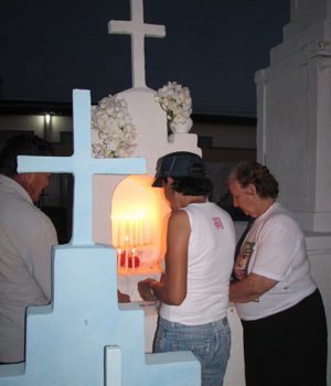 All Souls Day in a small town of Paraíba, Brazil
