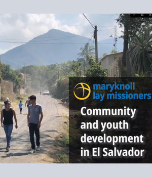Community and youth development in El Salvador