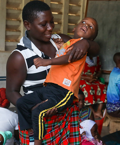 Helping children with disabilities access healthcare in Tanzania
