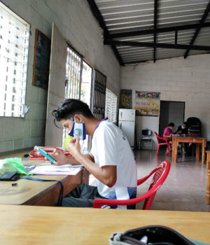 Salvadoran youth face educational challenges during pandemic